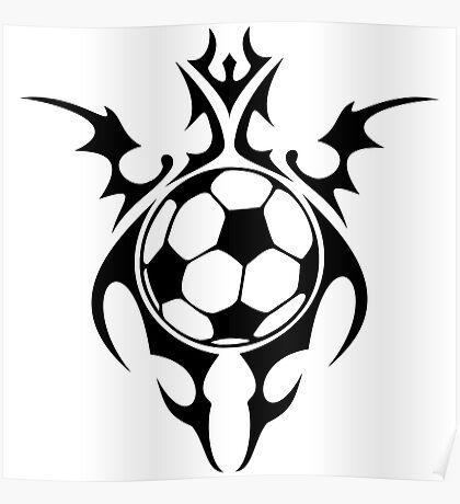 futbol : tribalz Poster