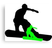 snowboard : shadowstance Canvas Print