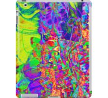 psychedelic rainbow experimental photography  iPad Case/Skin