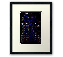 """""""THE FORMULA"""" Framed Print"""
