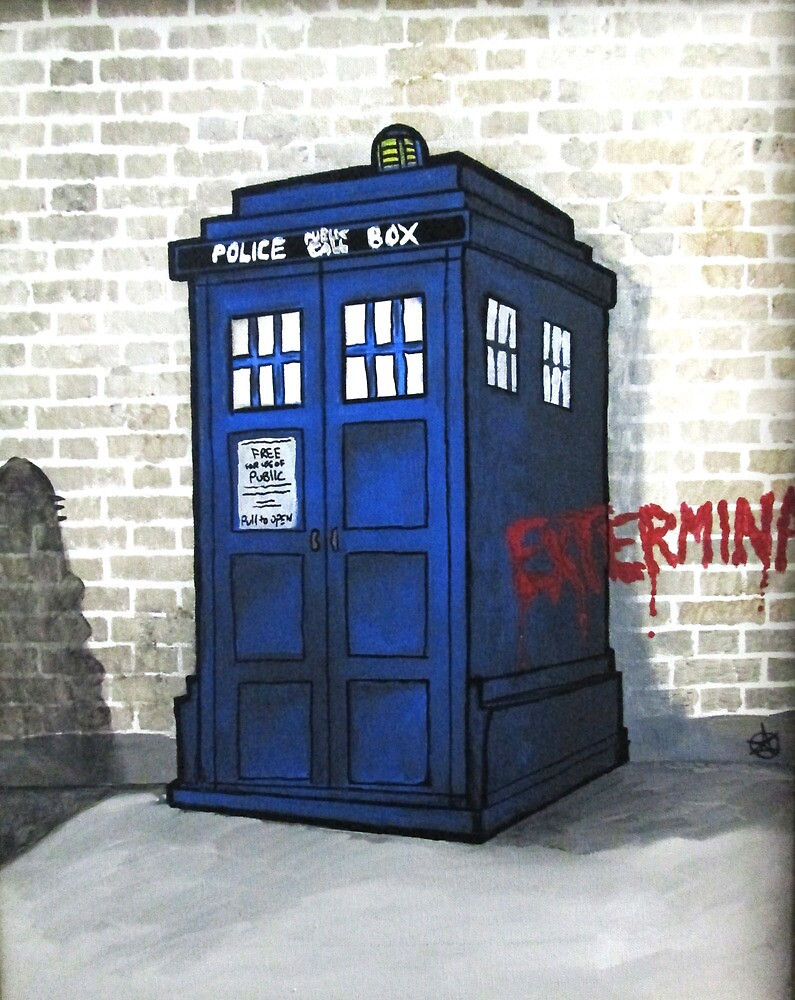 Dalek Gettin' Up by azummo