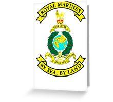 Royal Marines Greeting Card