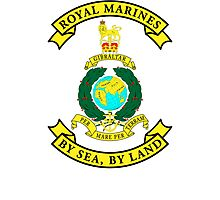 Royal Marines Photographic Print