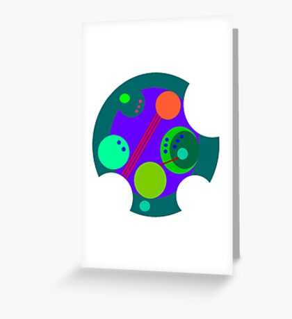 Gallifrey Greeting Card