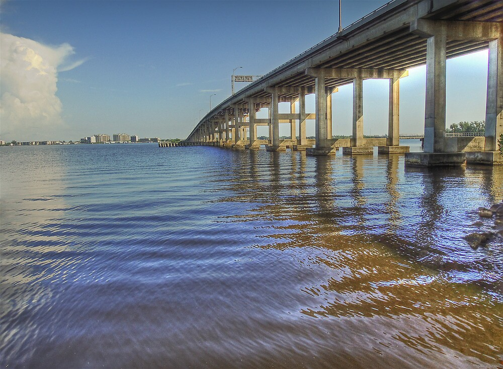 Hancock Bridge HDR by John  Kapusta