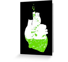 heart of the irish Greeting Card