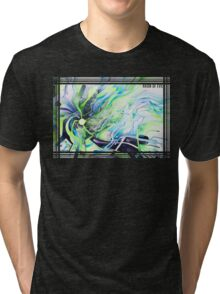 Axion of Evil - Watercolor Painting Tri-blend T-Shirt