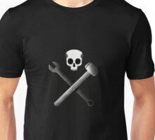 Mechanic's skull Unisex T-Shirt