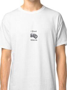 I Shoot Wildlife Classic T-Shirt