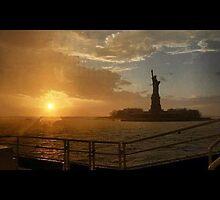 NYC, Lady Liberty  by Charli007