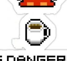 Take this coffee mug Sticker