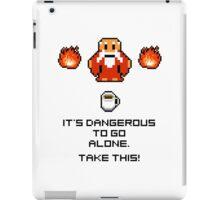 Take this coffee mug iPad Case/Skin
