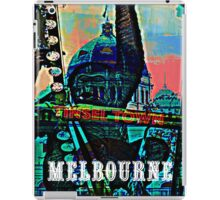 Melbourne tinsel town iPad Case/Skin