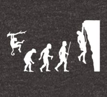 Evolution Rock Climbing by movieshirtguy