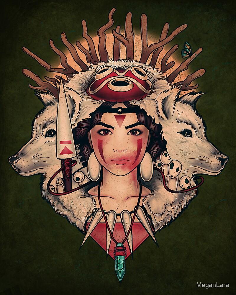 Spirit Princess - PRINT by MeganLara