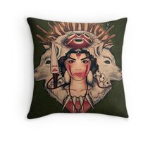 Spirit Princess - PRINT Throw Pillow