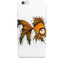 gold fingerrrrr the zombie fish iPhone Case/Skin