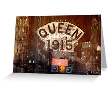 Queen 1915 Greeting Card