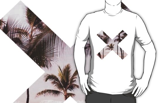 Palm Trees X Logo Shirt by tvedtt