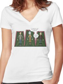 Maximum Security Women's Fitted V-Neck T-Shirt