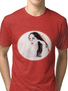 My Red Melancholy - Self Portrait Tri-blend T-Shirt