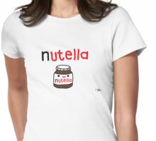 Nutella Womens Fitted T-Shirt