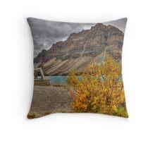 Crowfoot Mountain Throw Pillow