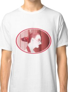 The Red Stripe - Self Portrait Classic T-Shirt