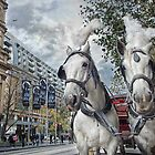 Swanston Street by Heather Prince