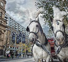 Swanston Street by Heather Prince