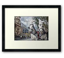 Swanston Street Framed Print