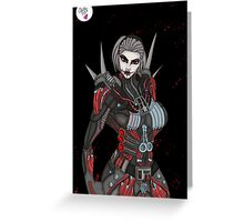 Serious - Sith Warrior Greeting Card