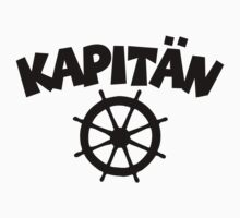 Kapitän with wheel by theshirtshops
