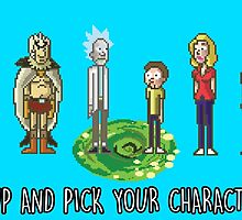 Pick your character, a**hole by Cosmodious