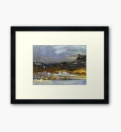 Spain - Seascape Impression 01 Framed Print