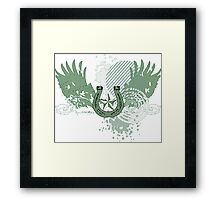irish hi-fi Framed Print