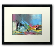 Spain- The Last Man in Town Framed Print