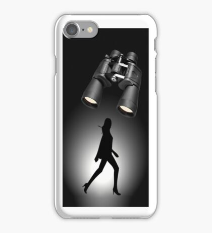 ╭∩╮( º.º )╭∩╮SOMEBODY'S WATCHIN ME AND I HAVE NO PRIVACY IPHONE CASE╭∩╮( º.º )╭∩╮ iPhone Case/Skin