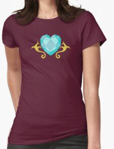My little Pony - Princess Cadence Cutie Mark V3 Womens Fitted T-Shirt