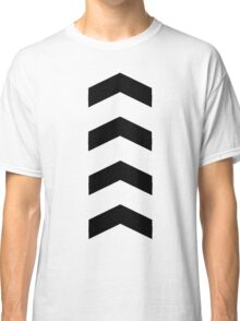 These Chevrons Point in One Direction Classic T-Shirt