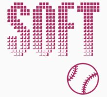 Softball Pink Kids Tee