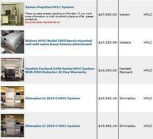 HPLC Equipment - EquipNet by Jamesdermot