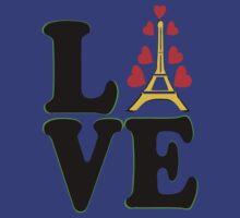 •°♥§Love Paris-Eiffel Tower Fabulous Clothing & Stickers§♥°• by Fantabulous