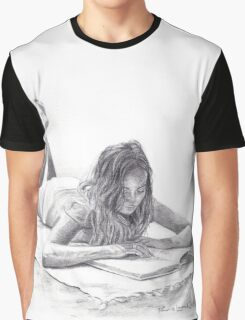 Reading in the Sun Graphic T-Shirt