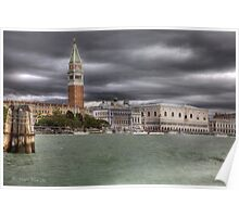 Dark clouds over Venice  [FEATURED] Poster