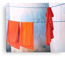 Monk robes  Canvas Print