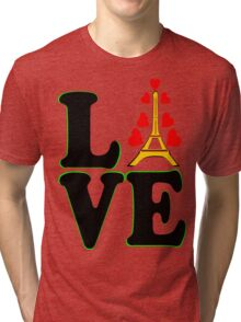 •°♥§Love Paris-Eiffel Tower Fabulous Clothing & Stickers§♥°• Tri-blend T-Shirt