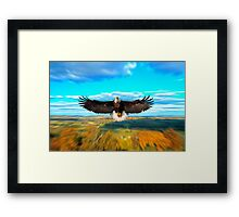FATHER RESTORE OUR LAND Framed Print
