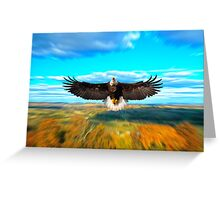 FATHER RESTORE OUR LAND Greeting Card
