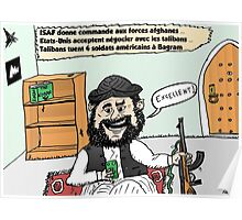 Joyeux Options Taliban Caricature Poster